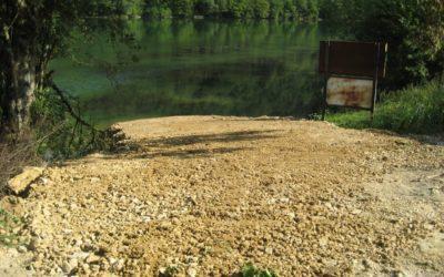 Pour ses pêcheurs, l'AAPPMA a créé deux nouvelles mises à l'eau à Grosbois.